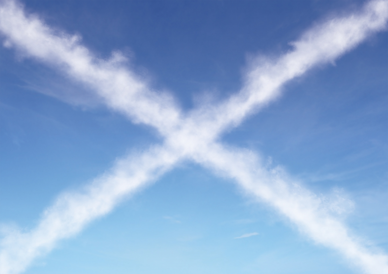 Design Antics The Guardian: Scotland Rebrand Sky Cross
