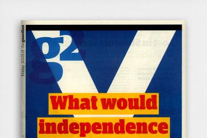 The Guardian: Scotland Rebrand