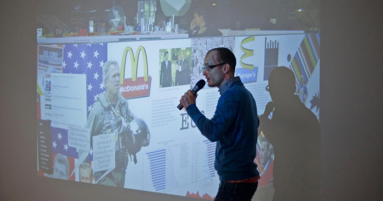 Barbican OMA Talk Simon Brown Speaking
