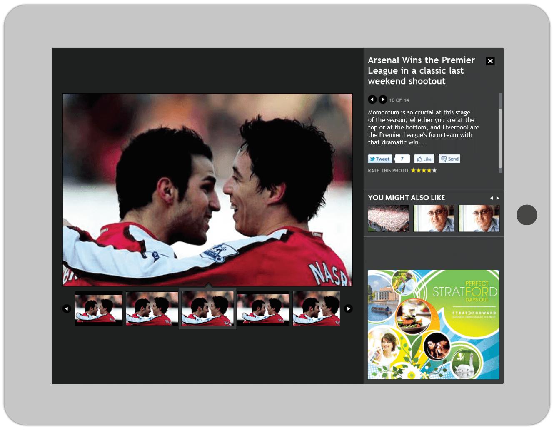 Website Design Mirror Online Gallery Design