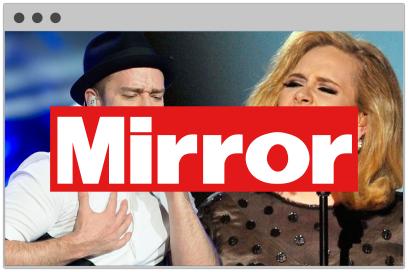 Website Design Mirror Online Large Linked Image