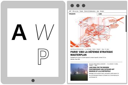 AWP.fr Website Design By &&& Creative