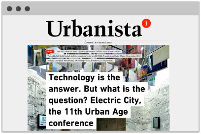 Urbanista.org Website Design By &&& Creative