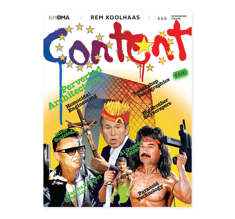 Content Book Cover Book Design Creative Direction Content OMA