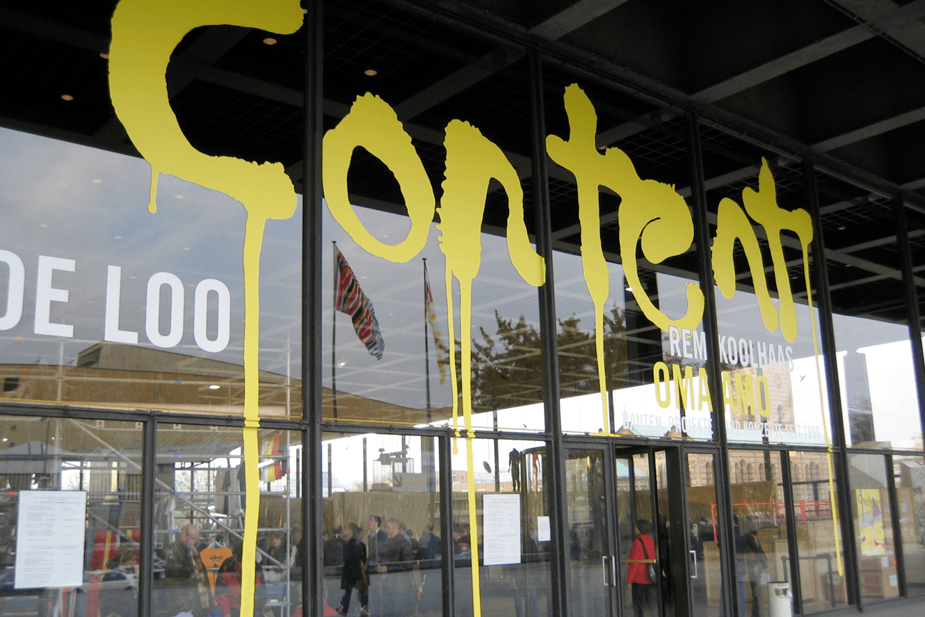 Neue National Gallerie Berlin, Content Logotype Designed By &&& Creative For Rem Koolhaas