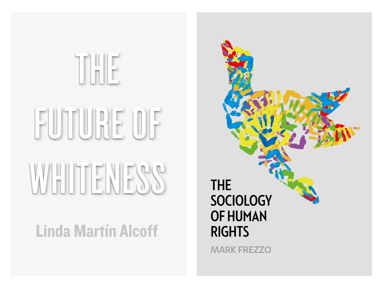 Book Cover Design For The Future Of Whiteness And The Sociology Of Human Rights By Polity Books. Designed By &&& Creative