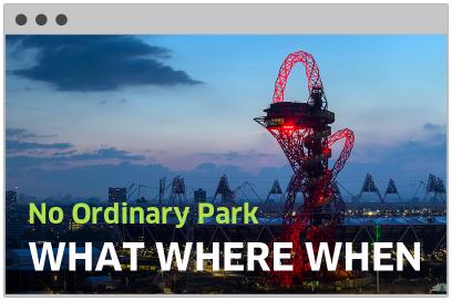 Queen Elizabeth Olympic Park Website Design By &&& Creative