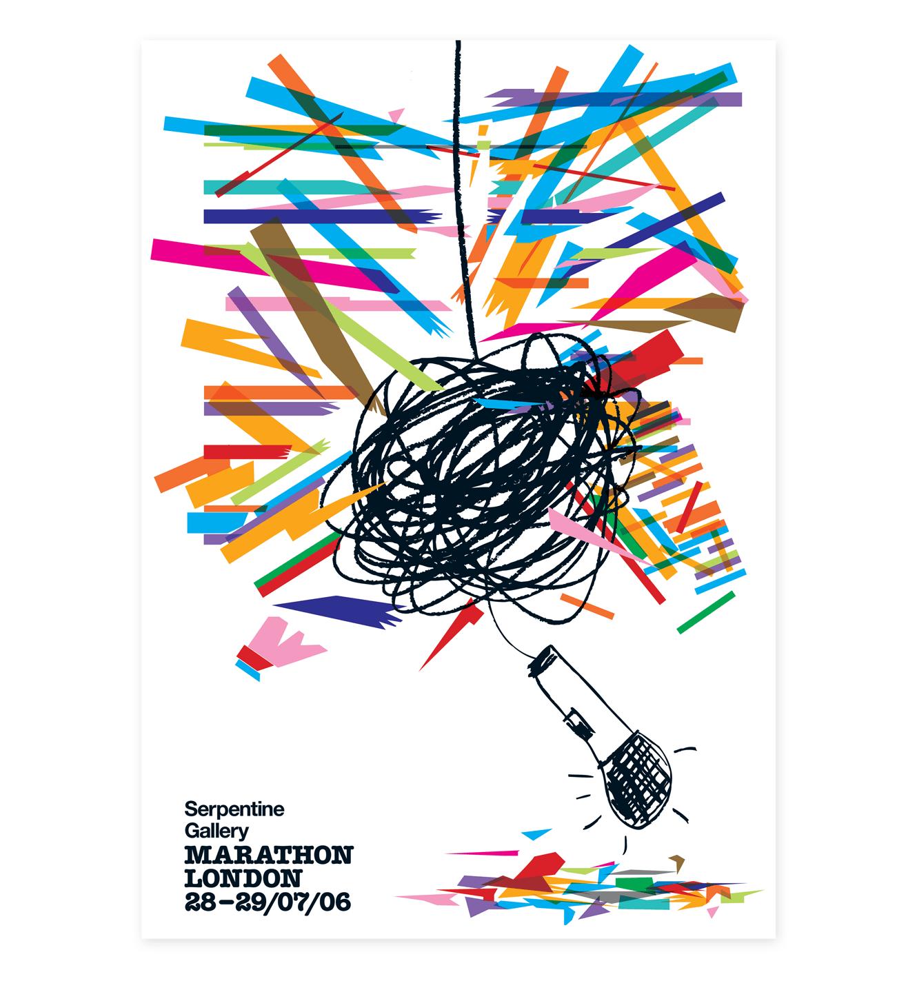 Serpentine Galleries Poster Designed By &&& Creative