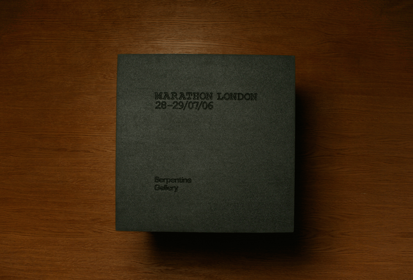 Interview Marathon Book Cover Design For The Serpentine Gallery Designed By &&& Creative
