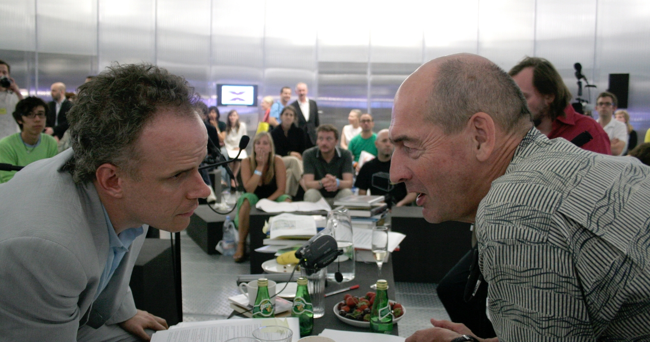 Hans Ulrich Obrist & Rem Koolhaas Serpentine Gallery Pavilion, Photography By &&&