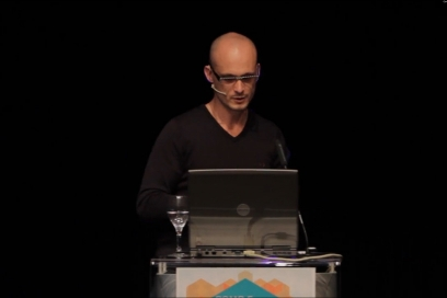 Simon Brown Lecture: Content Is King, Design Is It's Queen At Pomp Forum, Slovenia