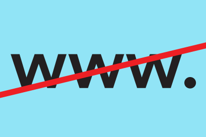 Ditch The Www. A Design Campaign By &&& Creative