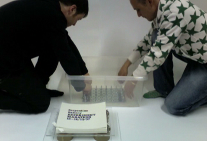 The Making Of DVD Title Sequence For The Serpentine Galleries Designed By &&& Creative