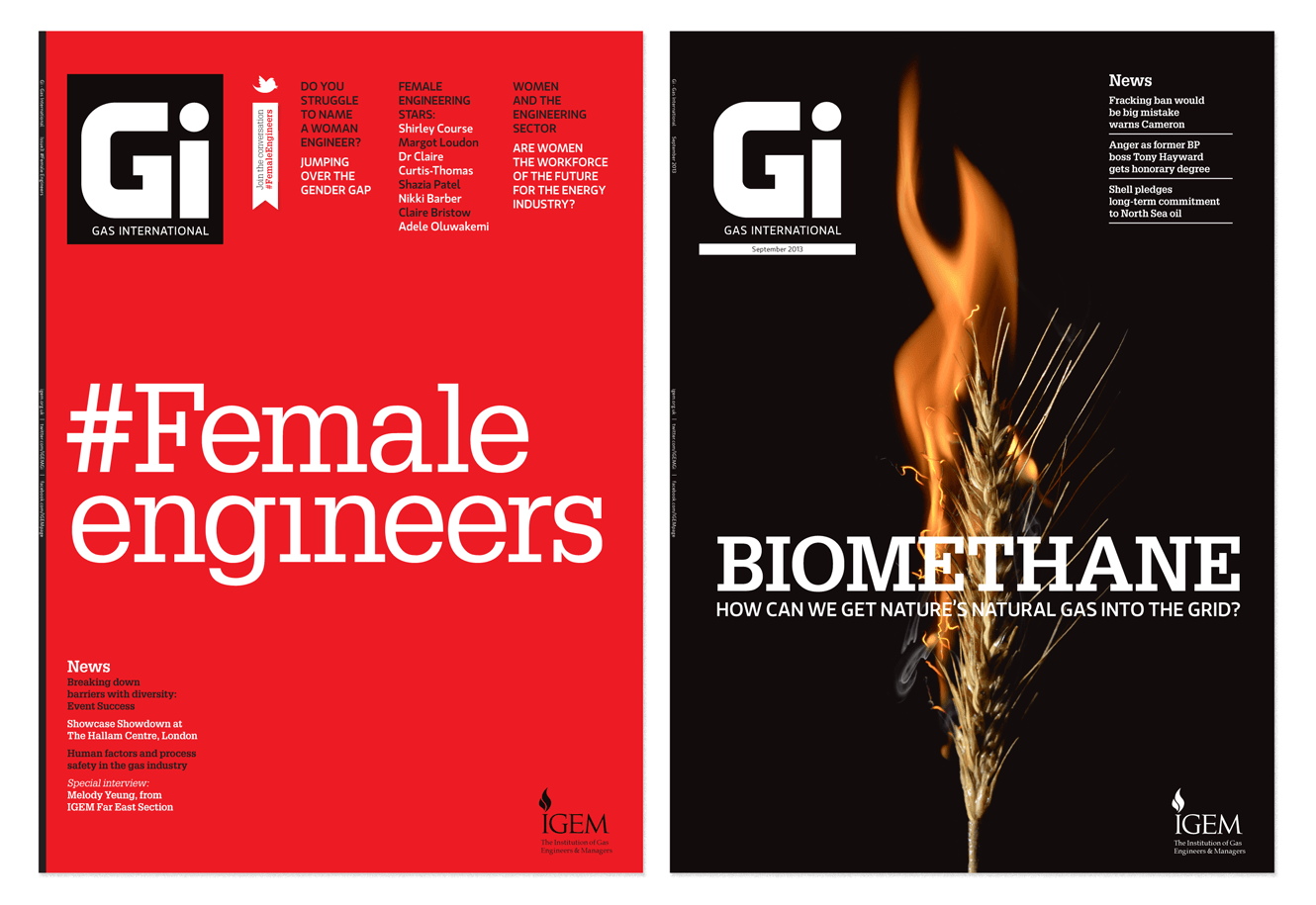 Gas International Magazine For Quercus Eight Designed By &&& Creative