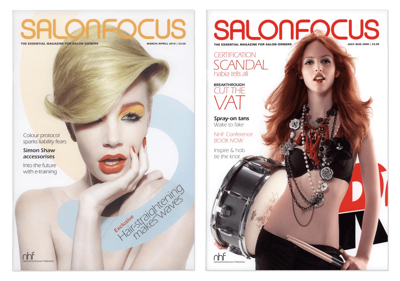 Salon Focus Magazine For Quercus Eight Designed By &&& Creative