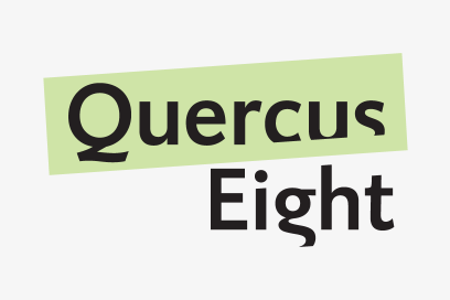 Large Linked Image Brand Identity Quercus Eight