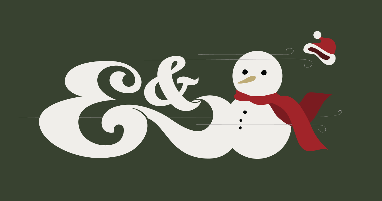 Ampersand Christmas