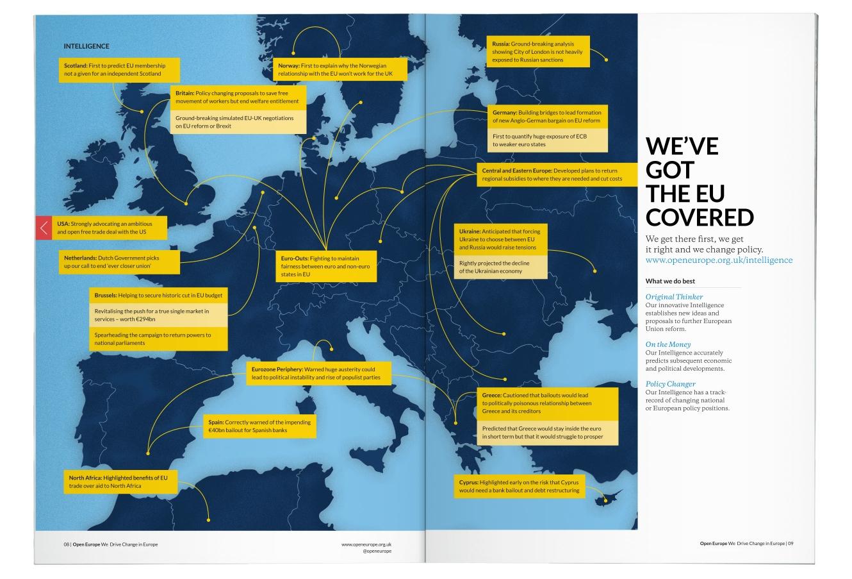 Open Europe Brochure