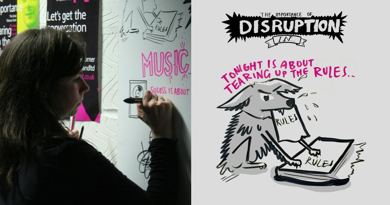 Josephine Ford   Live Illustration At Creative Corner